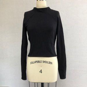Lululemon Black Sweater Top - 6